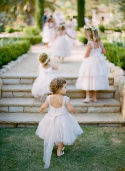 Cute bridesmaid dresses for little girls ideas 9